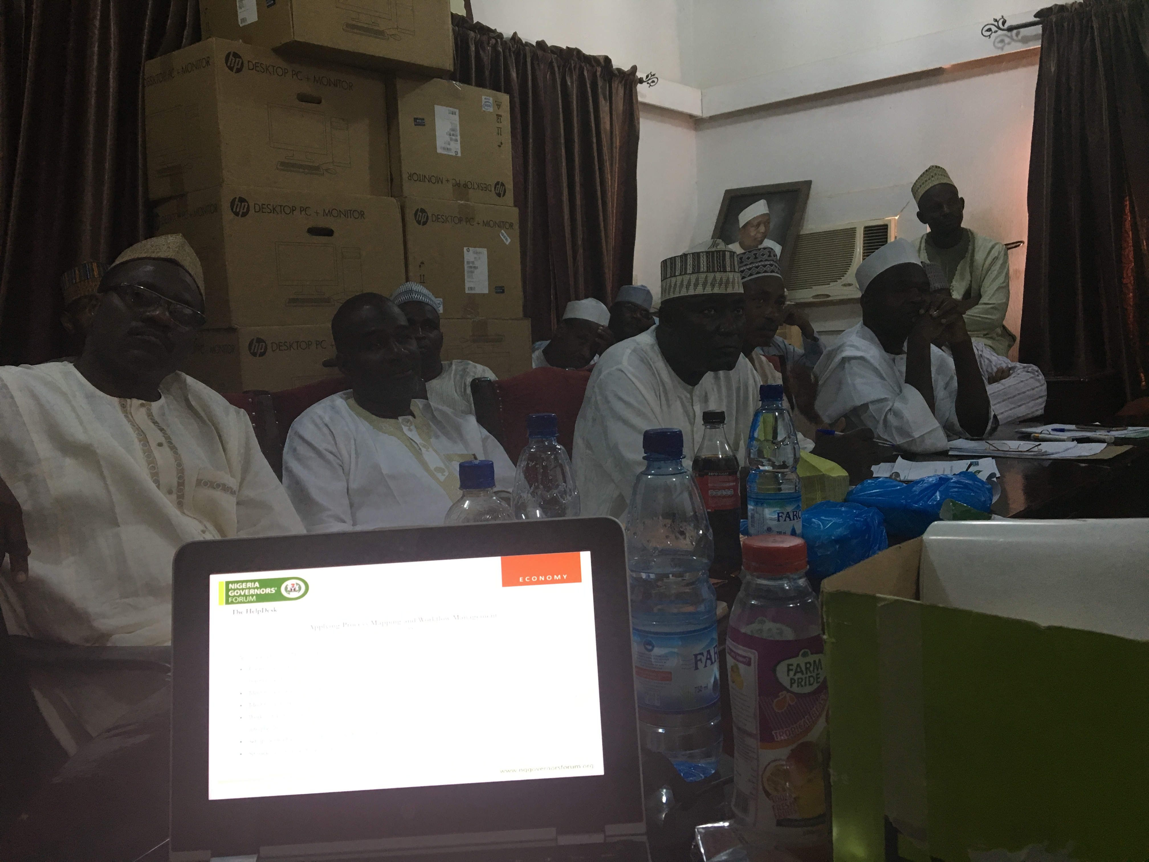 Katsina State- NGF HelpDesk IGR Training 12/07/2017